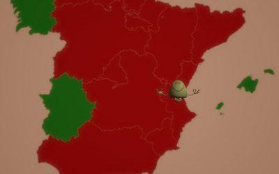 Hasta el 9 de diciembre, prohibición de entradas y salidas en la Comunidad Valenciana para dos semanas
